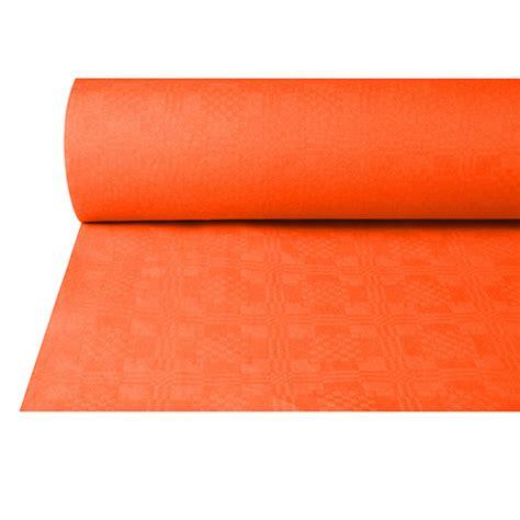 nappe damass 233 e 50 m x 1 m terracotta nappes papier damass 233 nappes nappes et sets de table