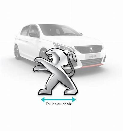 Stickers Lion Peugeot Voiture Developper