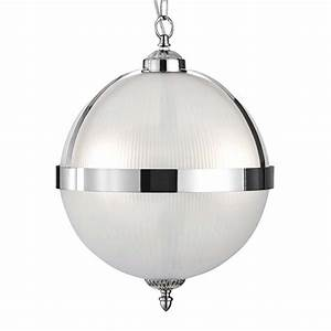 Ss light globe pendant satin silver and acid
