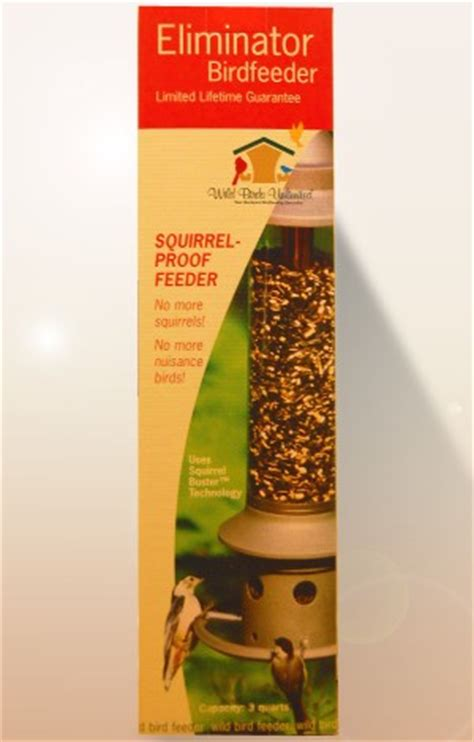product review the eliminator squirrel proof birdfeeder