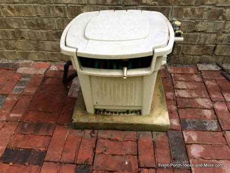 garden hose storage box project