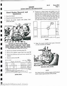 Caterpillar D4 D4d Crawler Service Manual