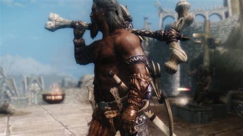 skyrim mods weapons immersive armors mod