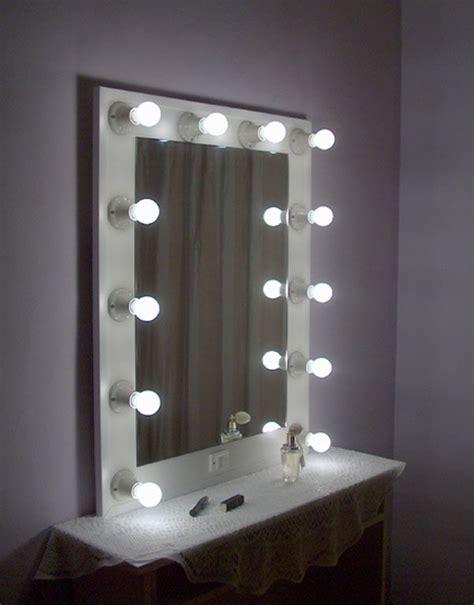 pin de luz de estrellas en espejos de camerino espejos