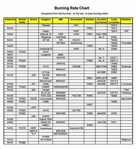 Alliant Powder Burn Rate Chart 8 Sample Powder Burn Rate Chart Templates Sample Templates