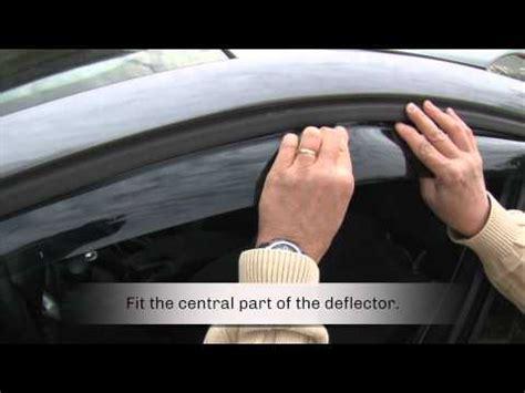 farad wind deflectors  renault megane youtube