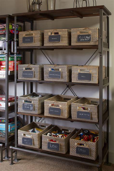 impressive bin organizer in family room rustic with