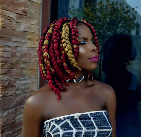 short box braids hairstyles  chic protective