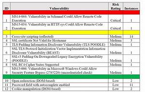 onsite or remote vulnerability assessment services With vulnerability assessment document
