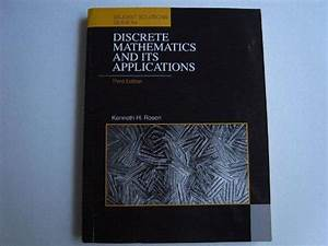 Discrete Mathematics And Its Applications  Student U0026 39 S