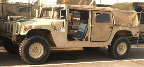 humvee view hmmwv humvee m998 military truck parts