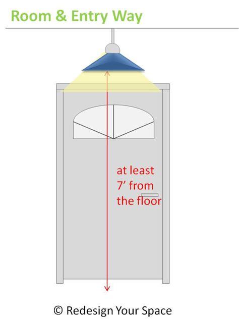pendant light height above kitchen island
