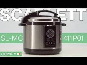 Scarlett SL-MC411P01 - мультиварка-скороварка с 5-литровой ...