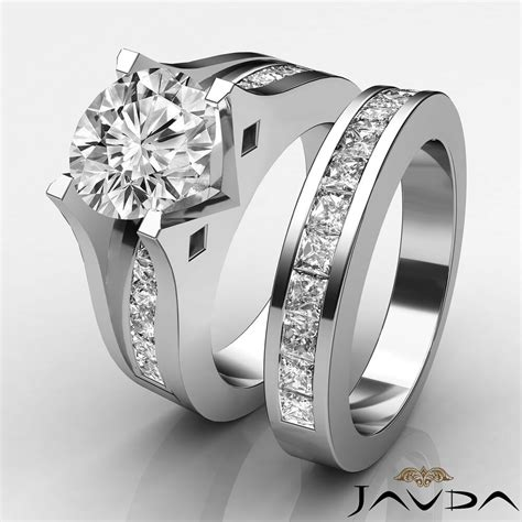 channel engagement ring bridal h