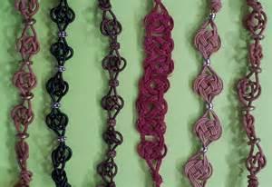 Celtic Knot Macrame Bracelet Tutorial