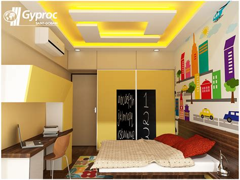 Beautiful Pop Design On Ceiling Of A Bedroom Trends With