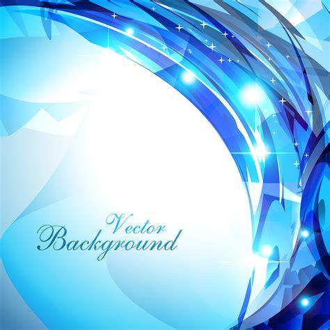 shiny blue background   vectors clipart