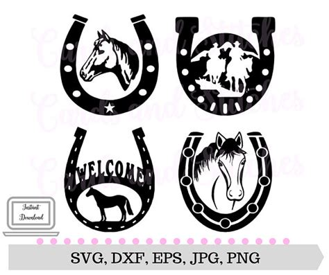 Find & download free graphic resources for horseshoe. Horses SVG Horseshoes SVG Western SVG Digital Cutting
