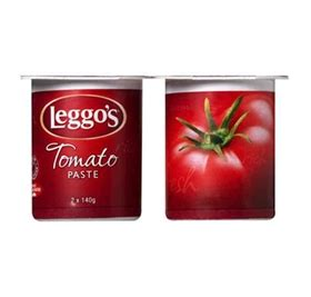 An incredibly helpful food court manager offered to look up the stats and put me on hold, only to return, apologize profusely, and say that their stat sheets were unavailable. Leggo's Tomato Paste - Costco Versus - Loaded Trolley