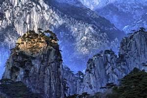 Huangshan Mountain Range Anhui China