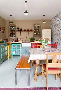 Vintage Kitchens With Modern Rustic & Retro Inspiration