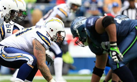 seattle seahawks  la chargers   nfl preseason