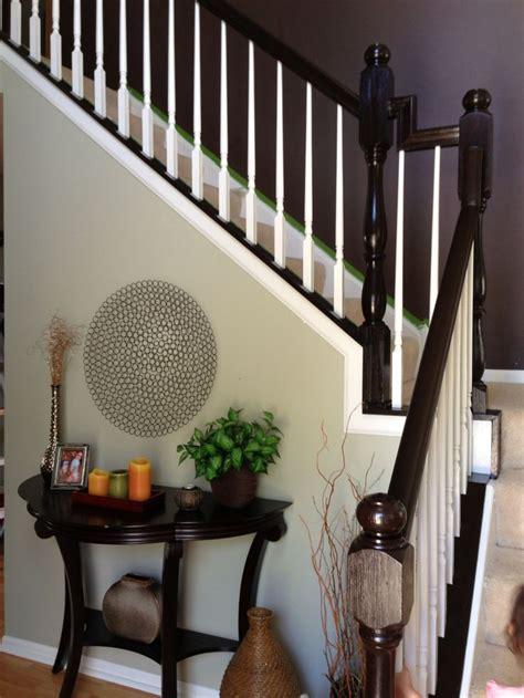 honey oak stairs  general finishes java gel