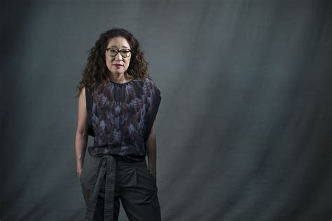 sandra oh on grey s anatomy sandra oh trades grey s anatomy for a new play inspired