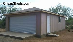 build a 1 2 3 or 4 car garage With cheap two car garage