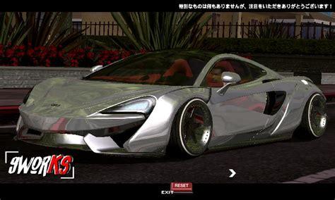 Mclaren 570gt Modification by Gta San Andreas Mclaren 570gt Liberty Walk Unofficial Mod