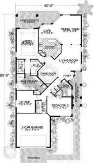 Narrow Lot House Plans Narrow Lot Mediterranean Home Plan 32170aa Architectural Designs House Plans