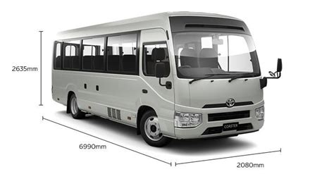 2017 TOYOTA 2017 4X4 COASTER BUS for sale