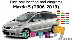 Fuse Box Location And Diagrams  Mazda 5  2006-2010