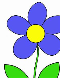 Flower Drawings with Color for Kids Tumblr in Black and ...
