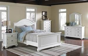 Brook 6 pc queen bedroom set white orange county ca for Bedroom furniture sets orange county