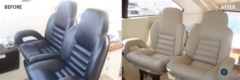 leather captains chair boat marine market boat upholstery and seat repair marine