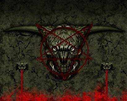 Doom Baphomet Kracov Wallpapers Pentagram Hipwallpaper Becuo