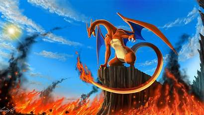 Charizard Pokemon Poka Mon Wallpapertag