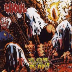 Ghoul (usa) We Came For The Dead (album) Spirit Of Metal