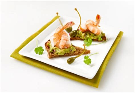 canapé avocat crevette traiteur sorel tracy menu traiteur