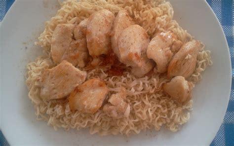 cuisiner souris d agneau recette nouilles chinoises au poulet gingembre et miel