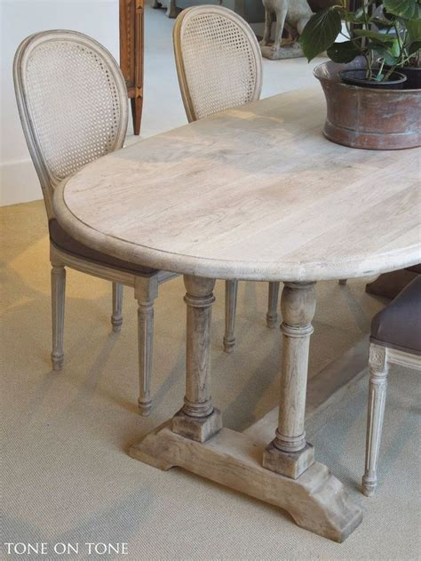 bleached oak dining table here is a 19th century belgian bleached oak dining