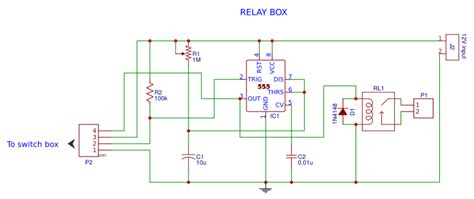 Timer Switch Using Relay Easyeda