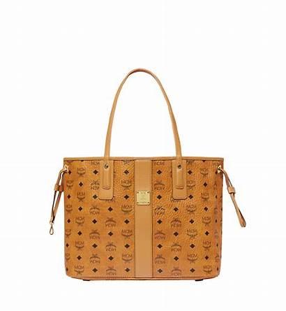 Mcm Liz Shopper Reversible Visetos Bag Tote
