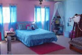 Girls Bedroom Ideas Blue And Green by Girls Bedroom Ideas Blue And Pink With White Tulle Curtains Could Do Half