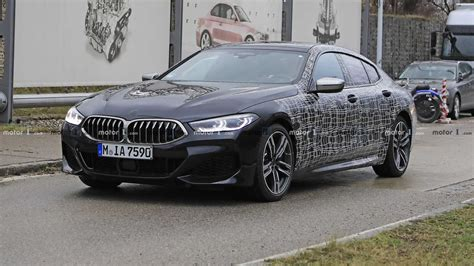 Bmw 8 Series Coupe Photo by Bmw 8 Series Gran Coupe M850i Sheds More Camo In New
