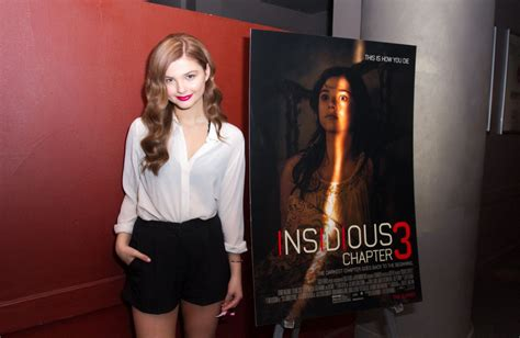 Stefanie Scott - Insidious Chapter 3 Trailer Launch Event ...