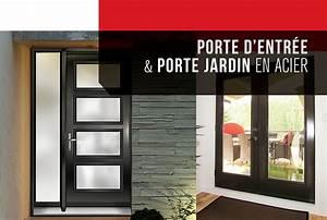 Portes d39acier futura portes et fenetres for Porte fenetre en acier
