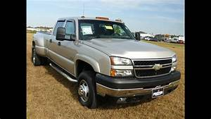 Used Car Truck For Sale Diesel V8 2006 Chevrolet 3500 Hd Dually 4wd 29000 Miles    F301629b