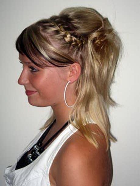 hochsteckfrisuren fuer halblanges haar